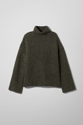 Weekday Sophie Sweater - Green
