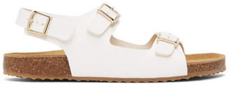 Mansur Gavriel White Cloud Sandals