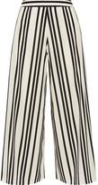 Alice + Olivia Alice Olivia - Sherice Striped Georgette Wide-leg Pants - US4