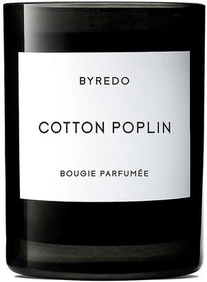Byredo Cotton Poplin Scented Candle in | FWRD