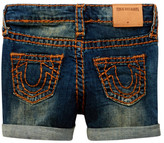 True Religion Super T Short (Toddler Girls)