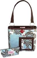 2 Red Hens Rooster Diaper Bag
