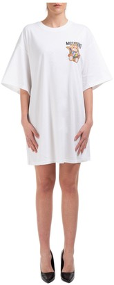 Moschino Teddy Frame Printed T-Shirt Dress