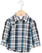 Boss by Hugo Boss Boys' Printed Button-Up Shirt