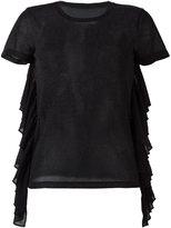 MM6 MAISON MARGIELA ruffle T-shirt