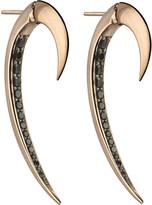 Shaun Leane Tusk rose gold earrings