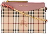 Burberry - two-tone clutch bag