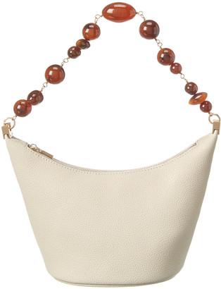 Cult Gaia Gia Leather Shoulder Bag