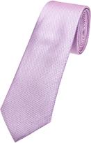 Oxford Silk Tie Pink Design