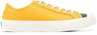 YMC Contrasting Toe Canvas Sneakers