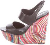 Alice + Olivia Savannah Wedge Sandals