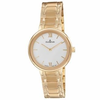 Dugena Women Analogue Quartz Watch with Stainless Steel Strap 4460998