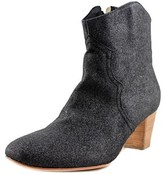 Luca Valentini Lugia Round Toe Synthetic Ankle Boot.