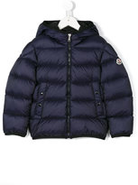 Moncler hooded padded jacket - kids - Feather Down/Polyamide/Feather - 4 yrs