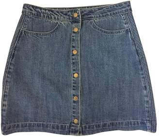 Suncoo Blue Denim - Jeans Skirt for Women