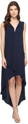 Adelyn Rae Women's V Back Tassel Dress