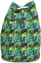 fe-fe tropical print backpack - unisex - Canvas - One Size