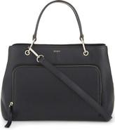 DKNY Greenwich medium leather satchel