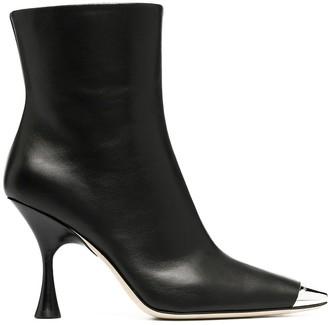 Sergio Rossi Toe-Cap Sculpted Boots