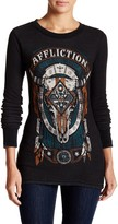 Affliction Land of the Free Reversible Thermal Tee