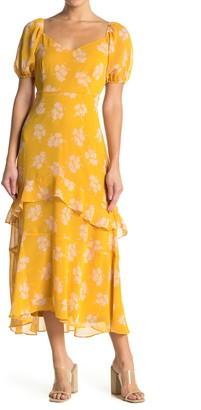 Lush Ruffle Maxi Dress
