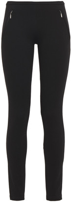 Emilio Pucci Zip-detailed Ponte Leggings