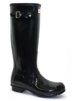 Hunter Gloss Black Boots