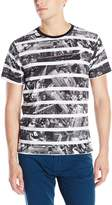 Zoo York Men's Stripe It Crew Short Sleeve Shirt