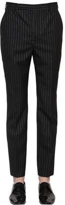 Saint Laurent 19.5cm Straight Wool Blend Pants