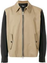 Yang Li contrast sleeve jacket