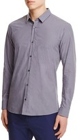 HUGO Gingham Slim Fit Button Down Shirt