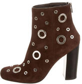 CNC Costume National Embellished Ankle Boots