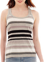 JCPenney A.N.A a.n.a Front-Pocket Racerback Tank Top
