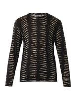 Dolce & Gabbana Dagger-print Wool Sweater