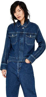 Find. Amazon Brand Women's Boxy Denim Jacket
