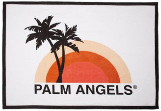 Palm Angels White Sunset Towel