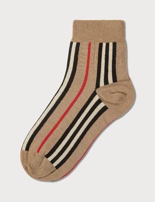 Burberry Vintage Stripe Short Socks
