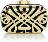 Biba Logo box clutch