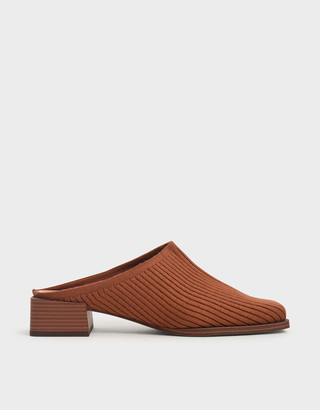Charles & Keith Knitted Mules