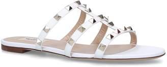 Valentino Garavani Leather Rockstud Slides