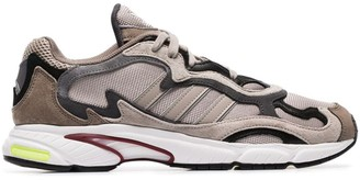 adidas brown Temper Run sneakers