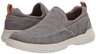 Skechers Relaxed Fit Doveno - Hangout (Taupe) Men's Shoes