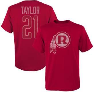 Redskins Outerstuff Youth Sean Taylor Burgundy Washington Retired Player Vintage Name & Number T-Shirt