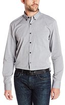 Kenneth Cole New York Kenneth Cole Men's Long Sleeve Dobby Shirt