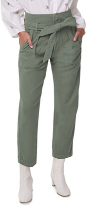 Citizens of Humanity Noelle Belted Cotton Cargo Pants