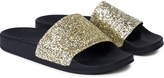 Palm Angels Glitter Pool Sliders