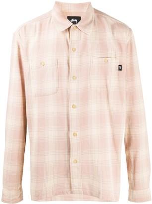 Stussy Plaid Cotton Shirt