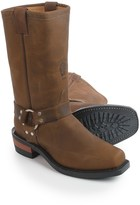 """Chippewa Harness Leather Work Boots - Snip Toe, 12""""(For Men)"""