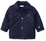 Personalization Baby Boy Quilted Barn Jacket