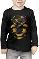 CUKUP SHIRT Toddler's Gold Guava Juice Face Long Sleeve Tee